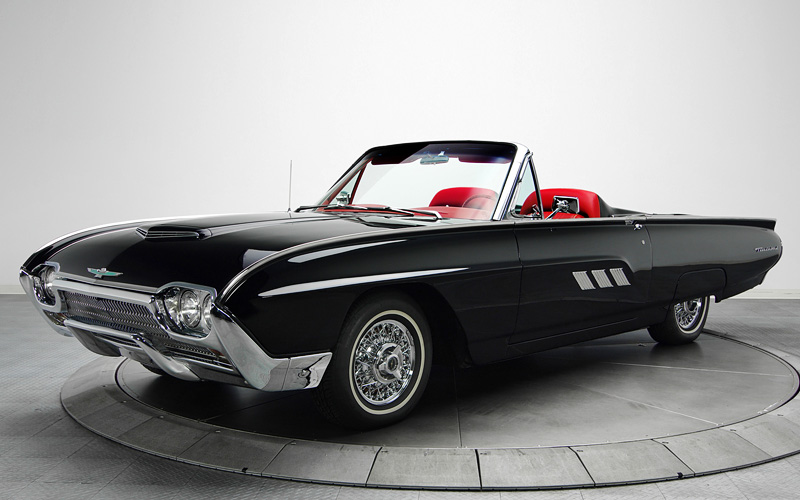 1963 Ford Thunderbird Sport Roadster Specifications Photo Price Information Rating