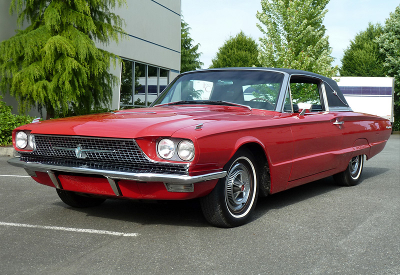 1966 ford thunderbird 428 town landau specifications photo price information rating. Black Bedroom Furniture Sets. Home Design Ideas