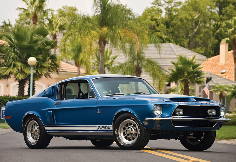 1969 Shelby Mustang >> 1968 Ford Mustang Shelby GT500 KR - specifications, photo ...