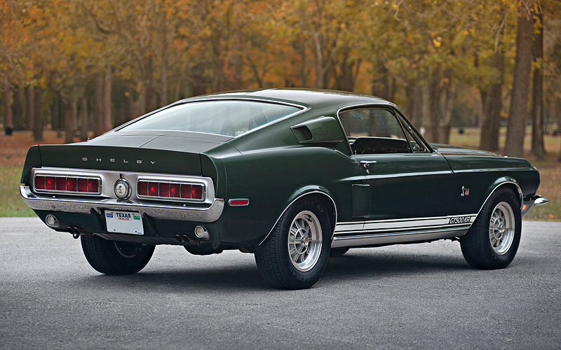 1968 Ford Mustang Shelby GT500 KR - specifications, photo ...