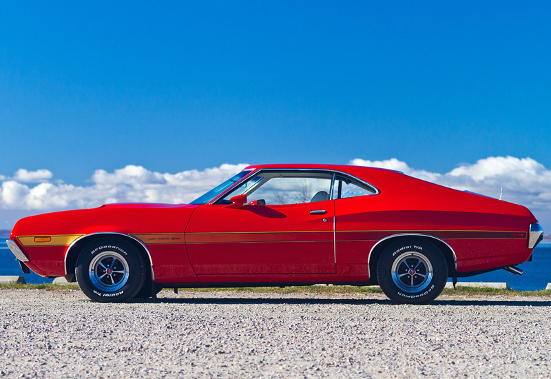 1972 ford gran torino sport 351 cobra jet specifications. Black Bedroom Furniture Sets. Home Design Ideas