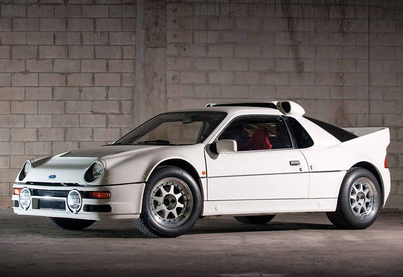 1986 Ford RS200 Evolution - specifications, photo, price ...