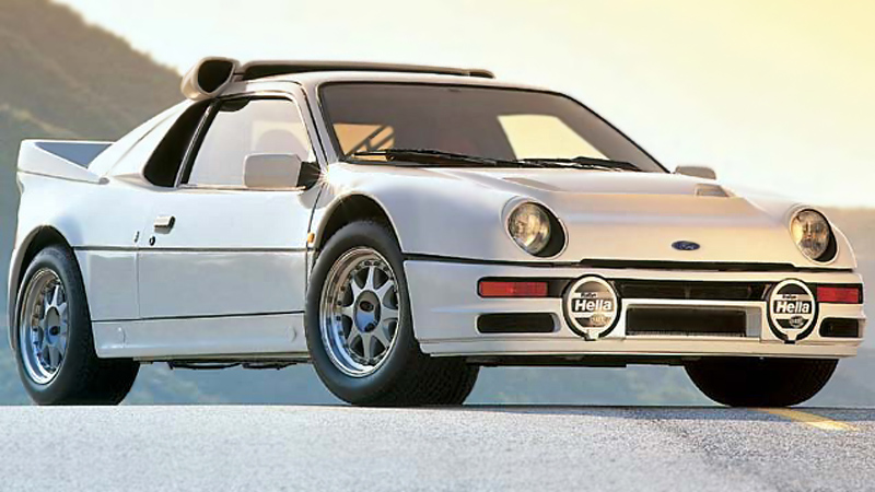 200 Kph To Mph >> 1986 Ford RS200 Evolution - specifications, photo, price, information, rating