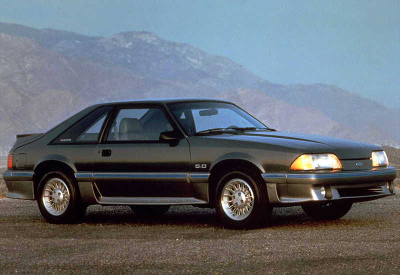 1987 Ford Mustang Cobra GT 5.0 - specifications, photo, price, information, rating