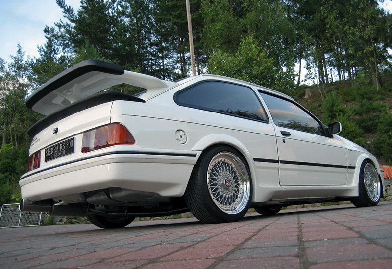 1987 Ford Sierra Rs500 Cosworth Specifications Photo