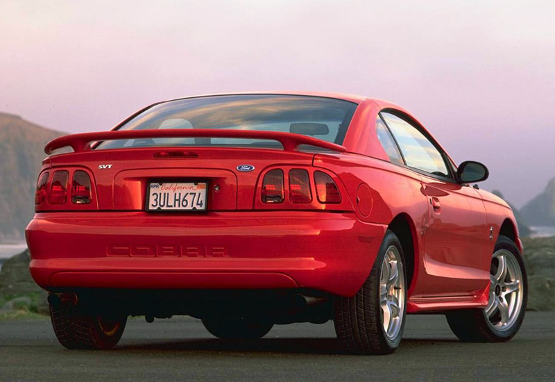 1996 ford mustang svt cobra specifications photo price. Black Bedroom Furniture Sets. Home Design Ideas