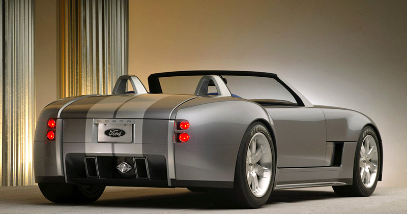 2004 Ford Shelby Cobra Concept Specifications Photo