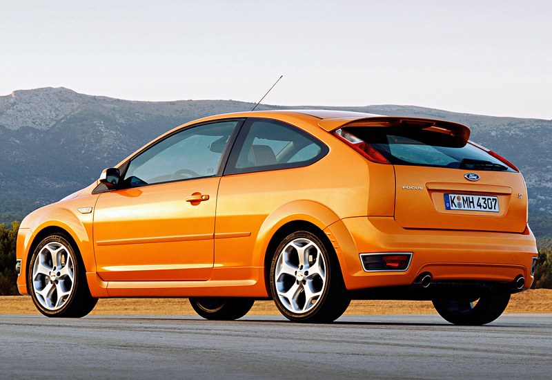 2018 Ford Focus St 0 60 >> 2005 Ford Focus ST - specifications, photo, price, information, rating