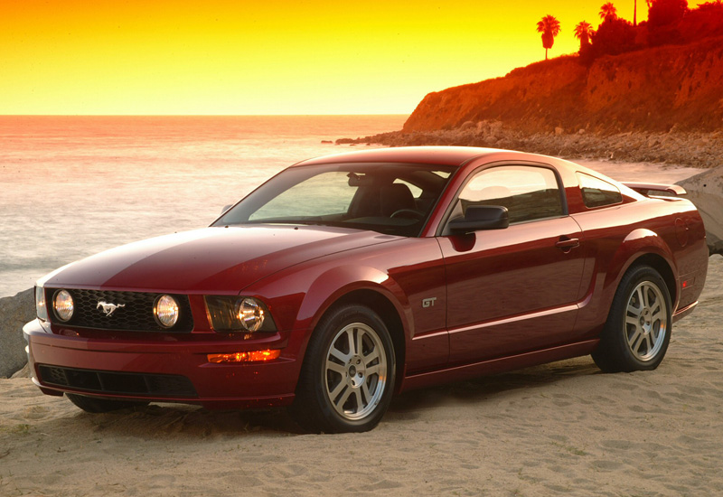 2005 ford mustang gt specifications photo price. Black Bedroom Furniture Sets. Home Design Ideas