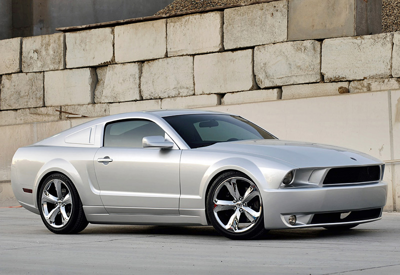 2009 ford mustang iacocca silver 45th anniversary edition