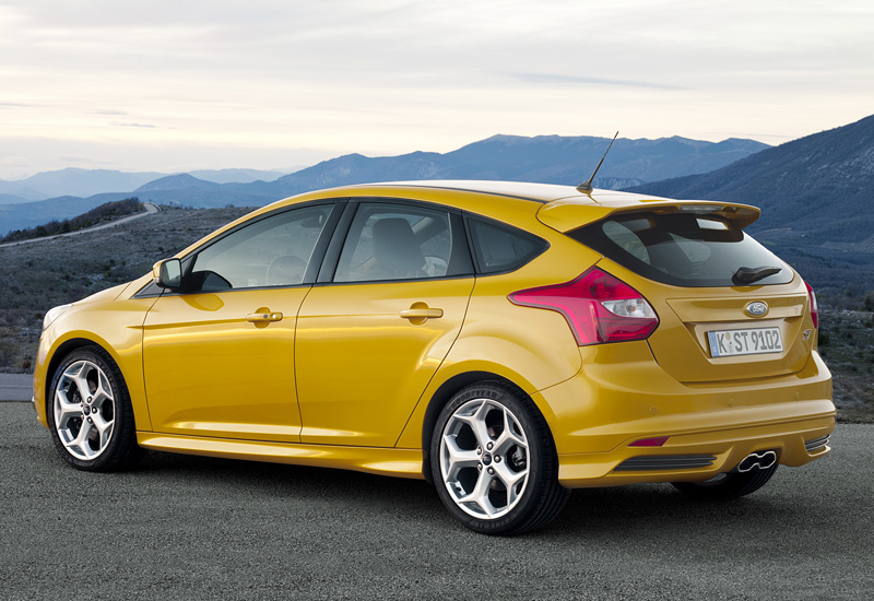 2012 Ford Focus ST specifications photo price