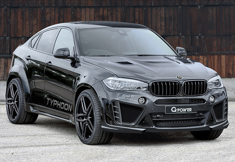 2016 Bmw X6 M G Power Typhoon Specifications Photo Price
