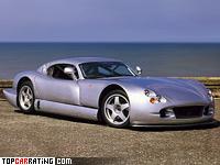 2000 TVR Cerbera Speed 12 = 386 kph, 811 bhp, 3.2 sec.