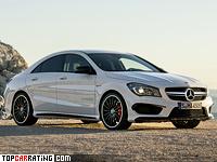 2013 Mercedes-Benz CLA 45 AMG (C117) = 250 kph, 360 bhp, 4.6 sec.