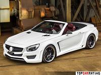2013 Mercedes-Benz SL 63 AMG  FAB Design Bayard = 314 kph, 630 bhp, 3.9 sec.