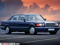 1985 Mercedes-Benz 560 SEL (W126) = 250 kph, 300 bhp, 6.8 sec.