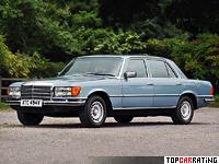1972 Mercedes-Benz 450 SEL (W116) = 216 kph, 228 bhp, 9.1 sec.