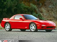 1991 Mazda RX-7 = 250 kph, 252 bhp, 5.7 sec.