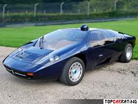 1984 Isdera Imperator 108i = 287 kph, 365 bhp, 4.6 sec.