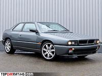 1992 Maserati Ghibli II = 248 kph, 280 bhp, 5.2 sec.