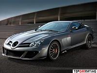 2010 Mercedes-Benz SLR McLaren Edition = 335 kph, 626 bhp, 3.8 sec.