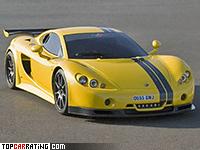2006 Ascari A10 = 354 kph, 625 bhp, 2.9 sec.