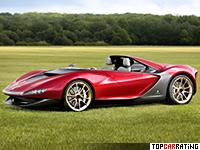 2013 Ferrari Sergio Pininfarina = 320 kph, 570 bhp, 3.4 sec.