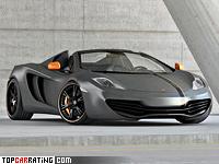 2013 McLaren MP4-12C Spider Wheelsandmore Stage II = 350 kph, 700 bhp, 3 sec.
