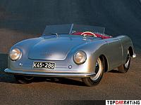 1948 Porsche 356 Nr.1 Roadster = 140 kph, 40 bhp, 16 sec.