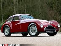 1948 Alfa Romeo 6C 2500 Competizione = 200 kph, 145 bhp, 9 sec.