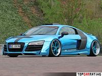 2013 Audi R8 V10 XXX Performance = 325 kph, 650 bhp, 3.3 sec.