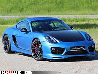 2013 Porsche Cayman S SpeedART SP81-CR 360 = 300 kph, 360 bhp, 4.3 sec.