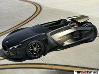 2010 Peugeot EX1 Concept = 260 kph, 340 bhp, 3.49 sec.