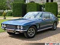 1971 Jensen Interceptor III SP Automatic = 230 kph, 390 bhp, 7.6 sec.