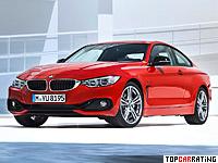 2013 BMW 435i Coupe (F32) = 250 kph, 306 bhp, 5.1 sec.