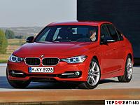 2012 BMW 335i Sedan (F30) = 250 kph, 306 bhp, 5.3 sec.