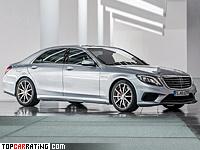 2013 Mercedes-Benz S 63 AMG 4Matic (W222) = 300 kph, 585 bhp, 4 sec.
