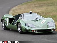 1968 Marcos Mantis XP = 357 kph, 700 bhp, 2.7 sec.