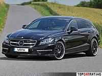 2013 Mercedes-Benz CLS 63 AMG Shooting Brake VATH = 350 kph, 846 bhp, 3.9 sec.