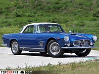 1958 Maserati 3500 GT = 230 kph, 220 bhp, 7.6 sec.