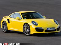 2013 Porsche 911 Turbo (991) = 315 kph, 520 bhp, 3.2 sec.