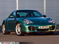 2000 Porsche 911 Turbo (996) = 307 kph, 420 bhp, 4 sec.