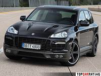 2010 Porsche Cayenne Turbo TechArt Magnum = 321 kph, 680 bhp, 4.2 sec.