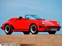 1989 Porsche 911 Carrera Speedster = 241 kph, 231 bhp, 6.1 sec.