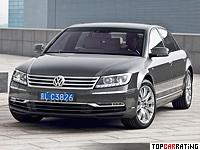 2010 Volkswagen Phaeton W12 = 250 kph, 450 bhp, 6.1 sec.