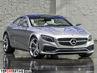 2013 Mercedes-Benz Concept S-Class Coupe = 300 kph, 455 bhp, 4.8 sec.
