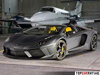 2013 Lamborghini Aventador LP1250-4 Roadster Mansory Carbonado Apertos = 380 kph, 1250 bhp, 2.6 sec.