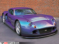 1997 TVR Speed 12 Prototype = 325 kph, 811 bhp, 3.1 sec.