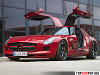 2013 Mercedes-Benz SLS AMG Kleemann = 356 kph, 770 bhp, 3.3 sec.