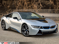 2014 BMW i8 = 250 kph, 362 bhp, 4.4 sec.
